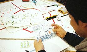 ワークショップ第1回「画用紙で好きなまちを描く、つくる」を開催しました