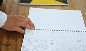 ワークショップ第3回「画用紙と商品企画」を開催しました